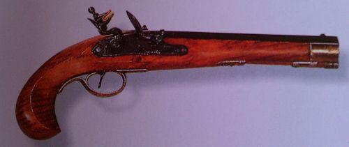 Flint Lock Pistol #1198