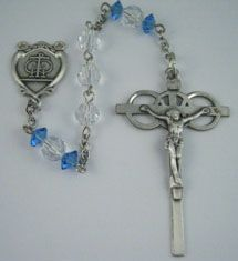 Sterling Silver Wedding Rosary Kit