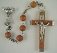 Wood First Communion Rosary