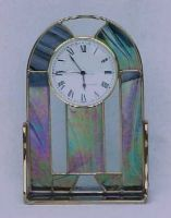 Stained Glass Clock