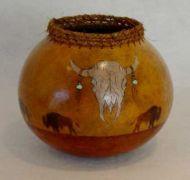 Buffalo Gourd Pot