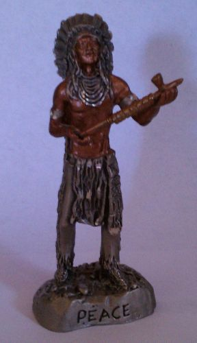 Chief Holding a Pipe