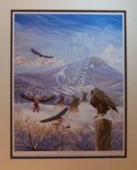 Spirit of the Mountain Eagle - Matted