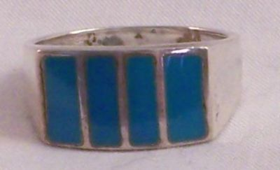 Turquoise Ring, Size 8