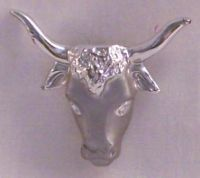 Cow's Head Pin