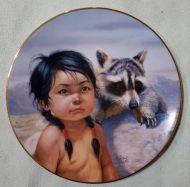 Dark Eyed Friends Plate