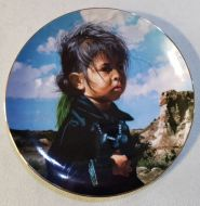 Navajo Little One Plate