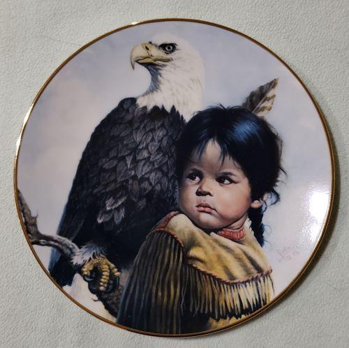 Brave & Free Plate